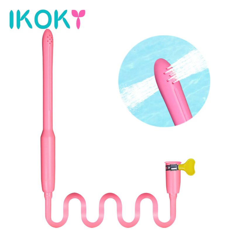 IKOKY Vagina Anal Cleaning Tools Sex Toys for Couples Gay Anal Butt Washer Sex Dolls Male Masturbation Washing Cleaner Shower