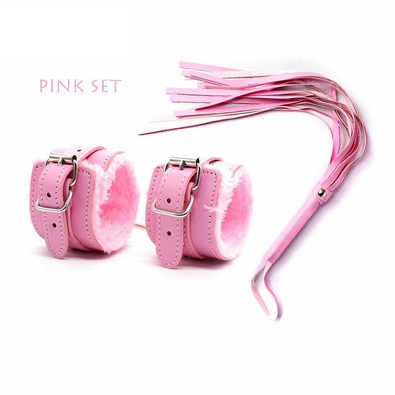 2-Pcsset-PU-Leather-Erotic-Handcuffs-Ankle-Cuff-