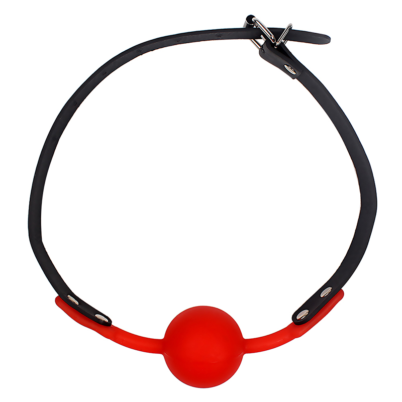 VATINE-Adult-Games-Silicone-Ball-Oral-Fixation-Bondage-Mouth-Gag-Mouth-Stuffed-PU-Leather-Band-Sex (5)