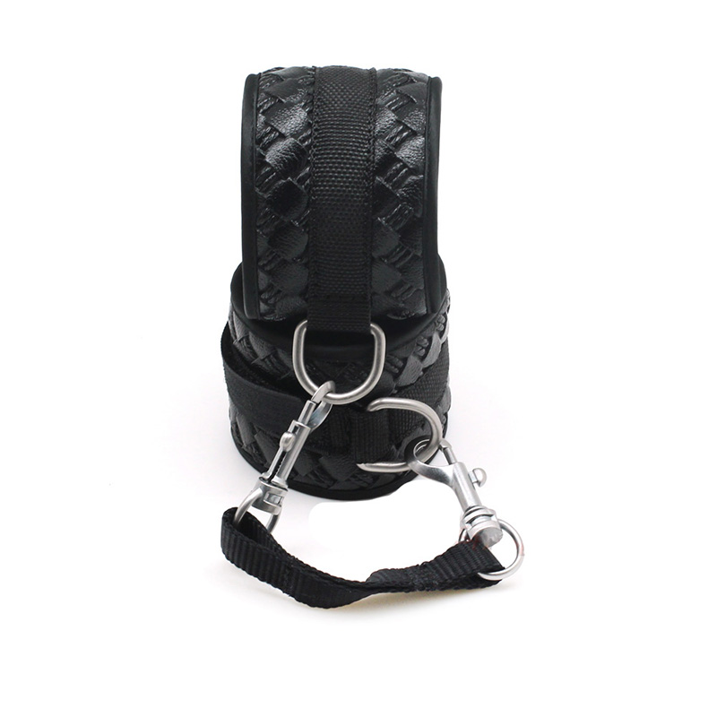 smspade-black-PU-leather-bondage-kit-sex-restraints-handcuffs-and-blindfold-beginners-erotic-sex-bondage-wrist (2)